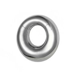 Hinged Clicker Filigree Segment Ring Surgical Steel 0ga - Sold Each