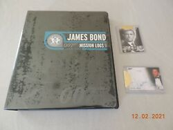 James Bond Mission Logs Complete Master Set Card From Archive Box