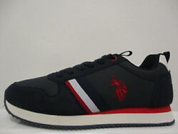 Us Polo Assn Nobil Trainers Mens Uk 8 Us 9/9.5 Eur 42 Ref 5696