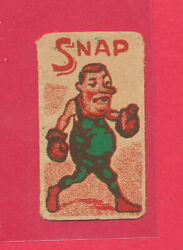Boxing Game Instructions Card Made Germany Snap Boxer Rare Header Vintage Tphlc