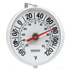 5 Decorative Wall Large Weatherproof Round Thermometer Indoor Outdoor Patio