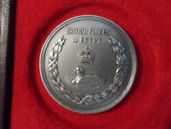 British Forces In Egypt - Command Team Swimming Championships 1932 Silver Medal