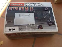 Edelbrock 6550 System Ii Ignition Computer Nos From Closed Down Speed Shop