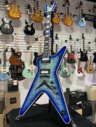 Dean Ml Select Quilt Top Electric Guitar Free Shipping