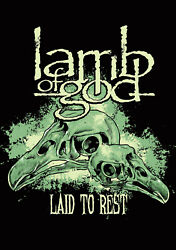 Lamb Of God, Laid To Rest, Music Poster