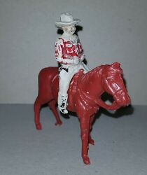 Hopalong Cassidy Plastic Timpo Argentina 1960 Vintage Far West Toy Soldier