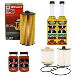 Motorcraft Oil And