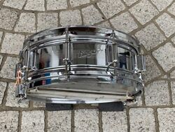 Rogers Dyna Sonic Brass Shell Snare Drum 60's Used Musical Instrument F/s