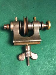 Antique Waltham Watchmakers Lathe Headstock Spindle Head