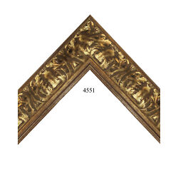 Custom Picture Frame   3 1/2 Gold   Great For Large Prints And Photos