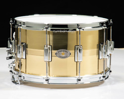 Rogers Dyna-sonic B7 Brass 8x14 Snare Drum