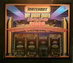 Hot Wheels Lighted Collectible Sign Matchbox Hot August Nights 2000