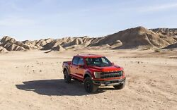 2021 Ford F150 Raptor Red Poster 24 X 36 Inch