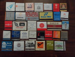 Old Vintage Hotels Lot Of 60 Pieces Different Types Advertising Matchbooks