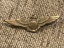 Wwii Us Navy Pilots Wings Pin 4 Centimeter Length