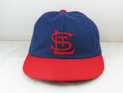 St Louis Cardinals Hat Vtg - 1940s Style By Cooperstown Cap - Fitted Size 7