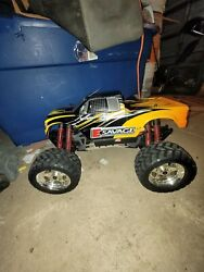 Hpi E Savage Electric Powerd 4wd Monster Truck Rc The Impact Speed From Japan