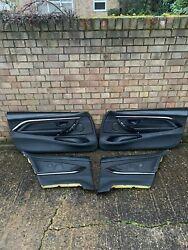 Rare Bmw F82 M4 Coupe Lci Competition Black Extended Leather Door Cards Interior