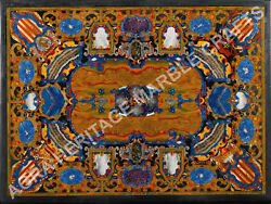 5and039x3and039 Exclusif Marbre Salle Andagrave Manger Nappe Lapis Incrustation Marqueterie Dandeacutecor