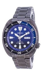 Seiko Prospex Save The Ocean Turtle Edition Automatic Srpd11 200m Menand039s Watch