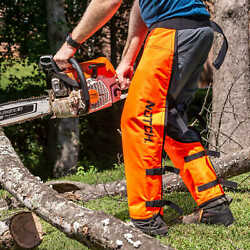 Notch Full Calf Wrap Chainsaw Chaps Large