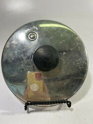 Vtg Saladmaster 7-3/4 Stainless Steel Replacement Vapo Lid Only