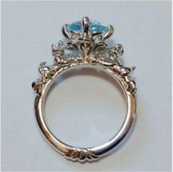K.uno Eternal Lover Donald And Daisy Ring Size Japanese 10.5