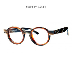 Computer Reading Glasses Thierry Lasry Energy 6312 Brown Horn 41 22 143 + Hoya L