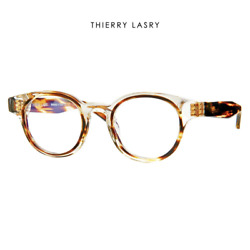 Computer Reading Glasses Thierry Lasry Dynamyty 995 Champagne 47 22 143 + Hoya L