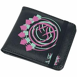 Blink 182 Wallet - Smiley - Rocksax Wallet With Coin Pocket And Credit Card Holder