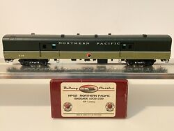 Ho Brass Railway Classics Northern Pacific Np Ncl Baggage 219 Factory Painted