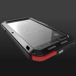 Love Mei Military Shockproof Aluminum Armor Metal Screen Protector Case Cover