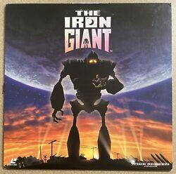 The Iron Giant Warner Bros., 1999 Widescreen Extended Play Animated Laserdisc