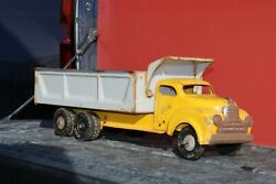 Lincoln Toys Construction Dump Truck - Pressed Steel - Canadian Made