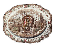 His Majesty Turkey Platter By Johnson Brothers Made In England Large 20x16andrdquo Nice