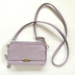 Reaction Kenneth Cole Crossbody Hipster Lilac 8 X 5 X 2 $14.99