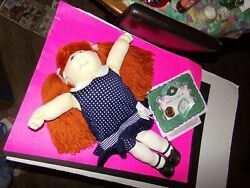 Cabbage Patch Soft Sculpture Doll Girl 2002