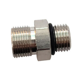 Octopus Orb Brass Straight Connector - Orb 5 To 3/8 Compression