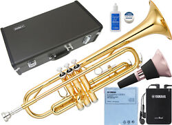 New Yamaha Ytr-2330 Bb Trumpet Gold Lacquer Made In Japan With Silent Brass