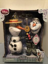 Disney Store Frozen Mixand039em Up Olaf The Snowman Pull Apart And Change - New