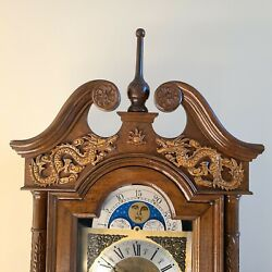 Rare Dragon German /asian Grandfather Clock From Taiwan Excellent Condition