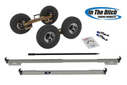 In The Ditch 5.7 Tires And Zic Plated Frames For Tow Trucks