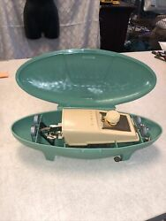 Vintage Singer Sewing Machines Buttonholer W642n Turquoise 1960s