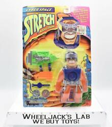 Stretch Armstrong Cyber Space 1995 Cap Toys New Mosc Action Figure Vintage
