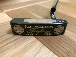 Scotty Cameron Trellium T22 Newport Putter Length 34 Inches Loft 3.5 With Cover