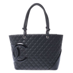 CHANEL Cambon line Large tote Black black bags 800000090137000 $2070.18