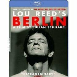 Lou Reed's Berlin Blu-ray [region Free] Concert Movie And Live Album - New
