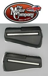 1968 1969 Cutlass Rear Armrest Bases Complete Also Includes Chrome Backing Plate