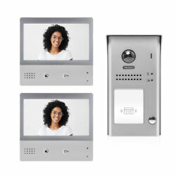 Video Intercom Entry System Dx4721m 1 Apartment Audio/video Kit With 2 Touch Scr