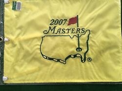 2007 Masters Golf Tournament Pin Flag Augusta National Golf Club New Sealed